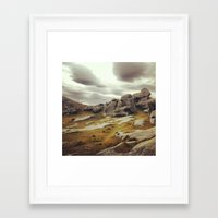new zealand Framed Art Prints featuring New Zealand  by ES13