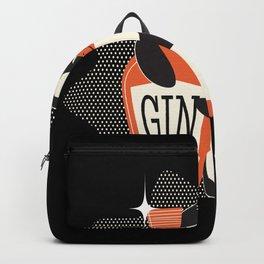 Cute Penguin For Gin Lovers Women Backpack
