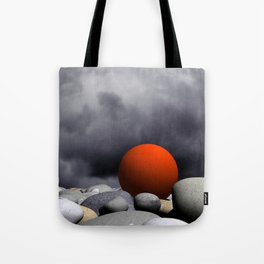 under rain clouds -3- Tote Bag