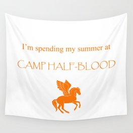 Spending my summer at Camp Half-Blood Wall Tapestry