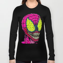 Spider Eyes Long Sleeve T-shirt