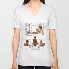 moonrise kingdom Unisex V-Neck