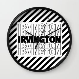Irvington USA CITY Funny Gifts Wall Clock