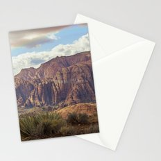 snow canyon Stationery Cards