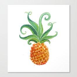 octoPineapple: octopus pineapple Canvas Print