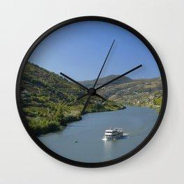 The Douro valley, Mesao Frio Wall Clock