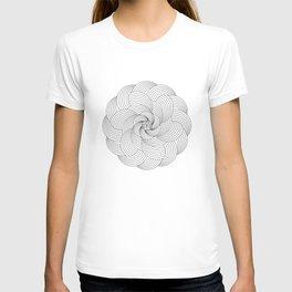 Mandala circle T-shirt