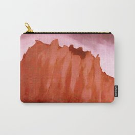 Red ShipRock Mountain Carry-All Pouch
