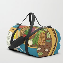 Yummy Soup Curry Duffle Bag