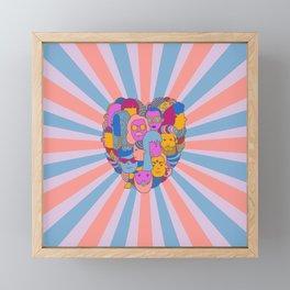 Soul Connection Framed Mini Art Print