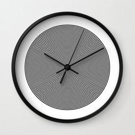 Hypnotic Circles optical illusion Wall Clock