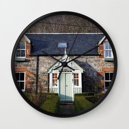 The House - Scotland Wall Clock