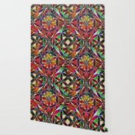 Flower of Life variation Wallpaper