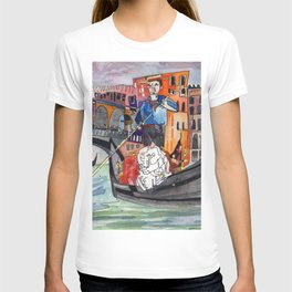 Lovers in Venice T-shirt