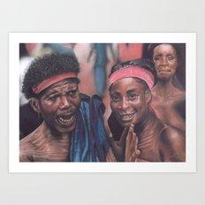 Ghanaian Women Art Print