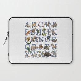 Animal Alphabet Laptop Sleeve
