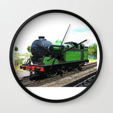 Vintage Steam railway engine Wall Clock