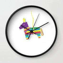 I'd Hit That Funny Cinco De Mayo Pinata T-Shirt Wall Clock