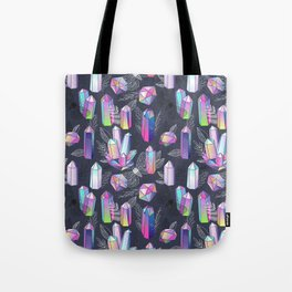 Moths and Crystals Tote Bag