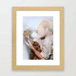 Sorry that i loved you Framed Art Print