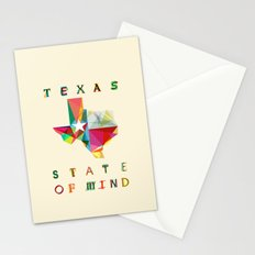 Texas State Of Mind Stationery Cards