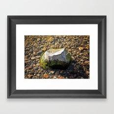 Rock out! Framed Art Print