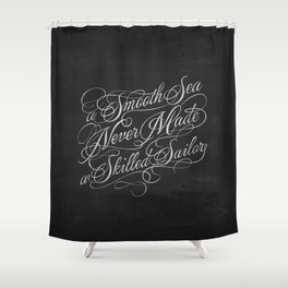 Smooth Sea Shower Curtain