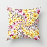 bali Throw Pillows featuring bali twist0 by gasponce
