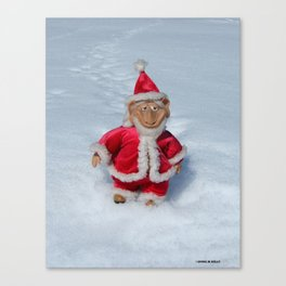 A RIGHT JOLLY OLD ELF Canvas Print