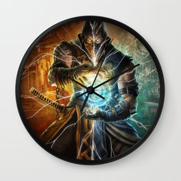 Game mk9 Wall Clock