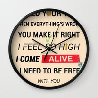 ellie goulding Wall Clocks featuring I Need Your Love ; Ellie Goulding feat. Calvin Harris by Wis Marvin