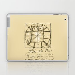 Kot da Vinci Laptop & iPad Skin