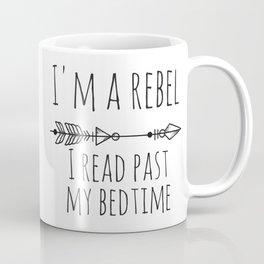 I Read Past My Bedtime Coffee Mug