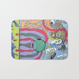 use your imagination Bath Mat