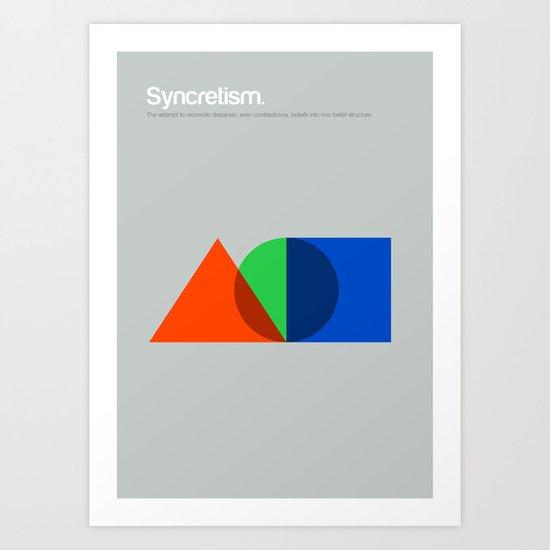 Syncretism Art Print