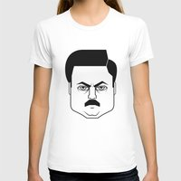 swanson T-shirts featuring Ron Swanson by Jude Landry