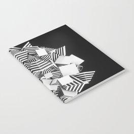 Abstract Pyramid 3D Illustration Notebook
