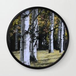 Autumn Dream Wall Clock