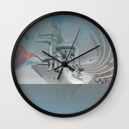 atmosphere 44 · Welcome to the machine Wall Clock
