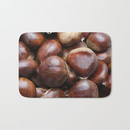 Sweet chestnuts Bath Mat