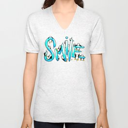 Smile Penguin Unisex V-Neck