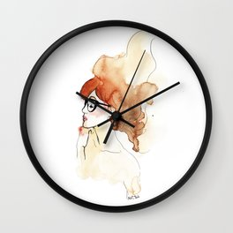 Woman's intimacy Wall Clock