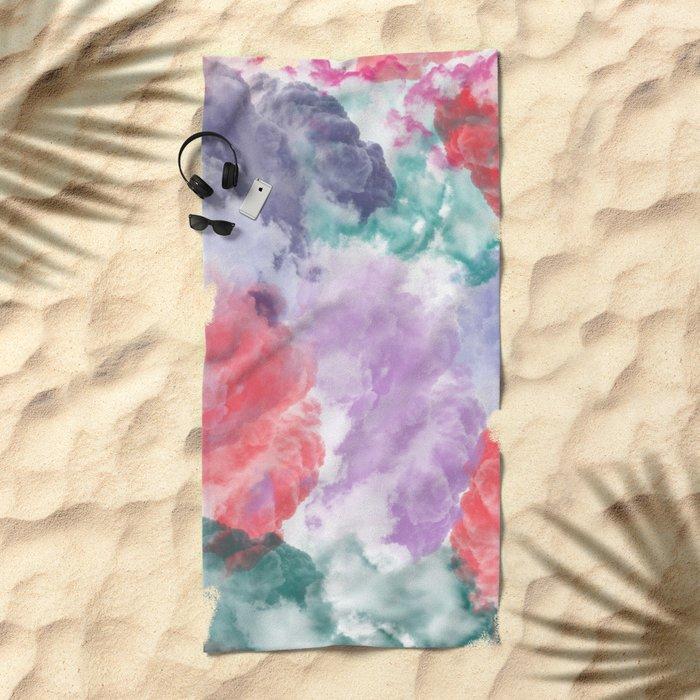 Abstract IX Beach Towel
