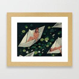 Travelers Framed Art Print