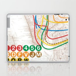 What the Future Awaits for New York I Laptop & iPad Skin