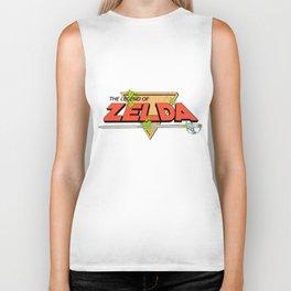 The Legend of Zelda Logo Biker Tank