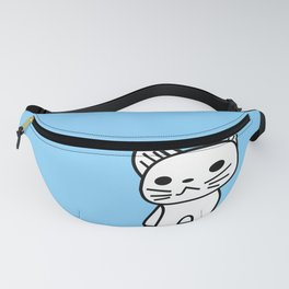 Snow in Blue Fanny Pack