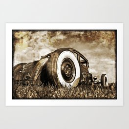 The Pixeleye - Special Edition Hot Rod Series II Art Print