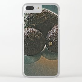 Avocados - Fall Tableau Clear iPhone Case