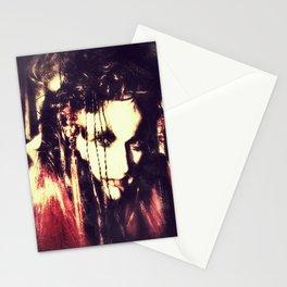 demon lady Stationery Cards